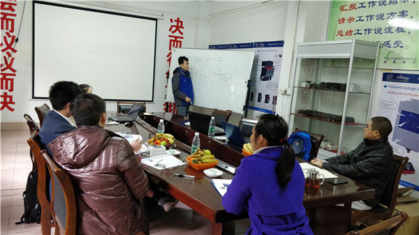 Thai Customer Visited Prosurge for Product Training