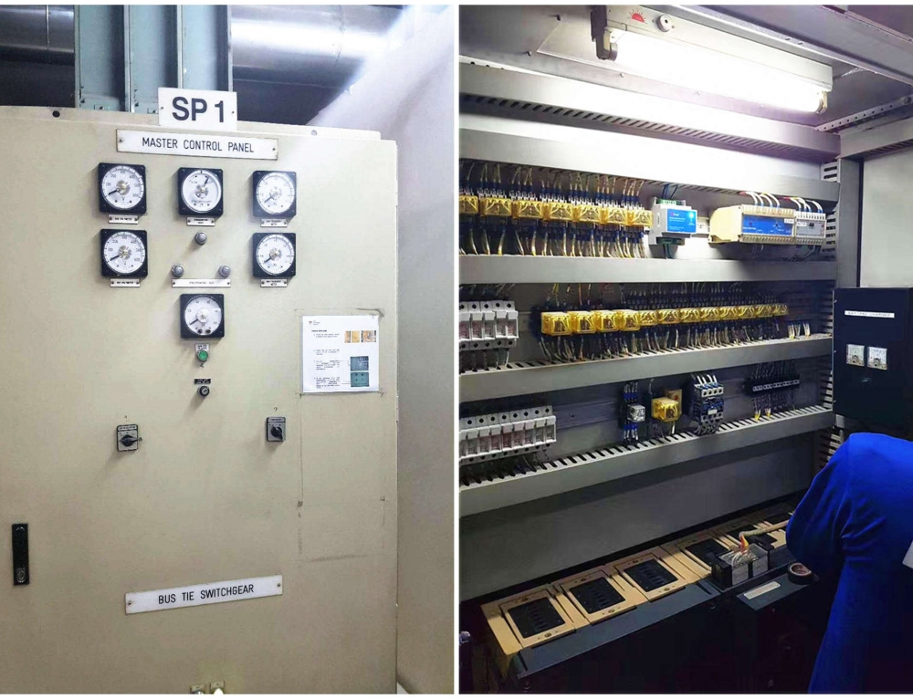 Surge Protection Project in Philippines (Surge Filter)