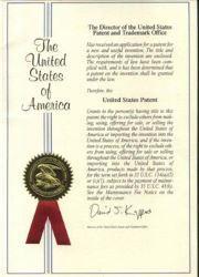 Brevet américain de Prosurge d'un dispositif de protection contre les surtensions
