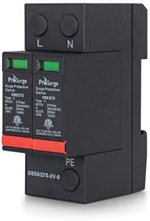 ETL Certified DIN-rail Surge Protection Device (SPD)- 2 Pole