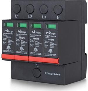 ETL Certified DIN-rail Surge Protection Device (SPD)- 4 Poles