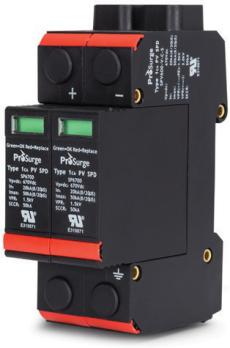 UL Surge Protection Device for DC PV Photovoltaic Solar-2 Pole