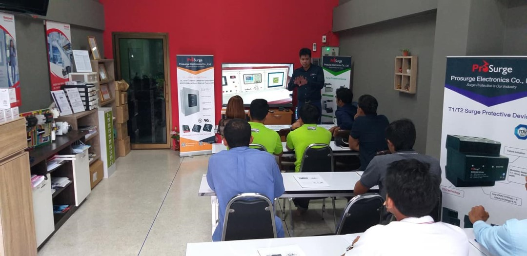 Prosurge Surge Protection Training Seminar at Thailand