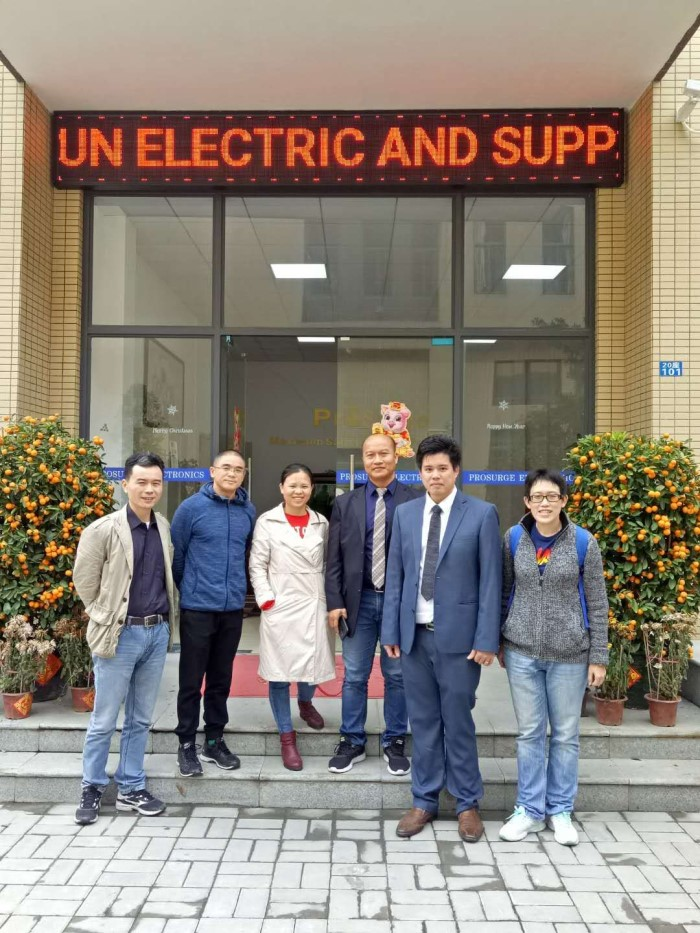 Thai Customer Visited Prosurge for Surge Prortection Device