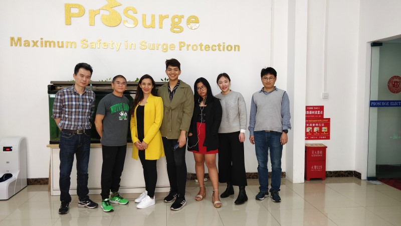 Filipino Customer Visited Prosurge on April