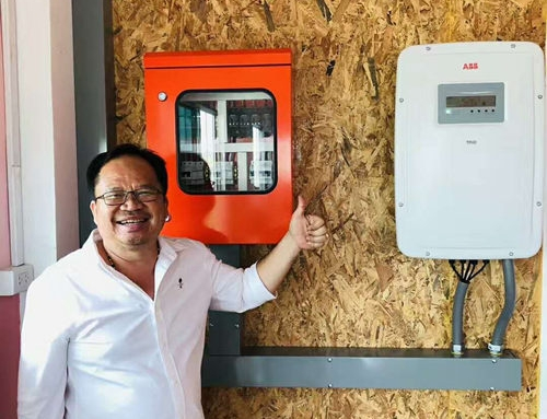 Soalr PV Surge Protection Project in Thailand 2019.4