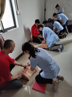 First Aid Training at Prosurge-2